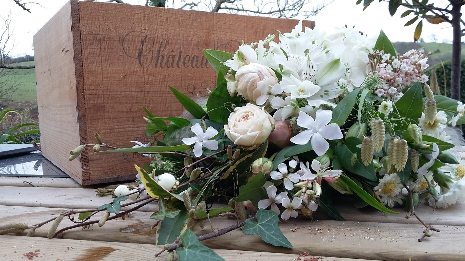 December white bouquet