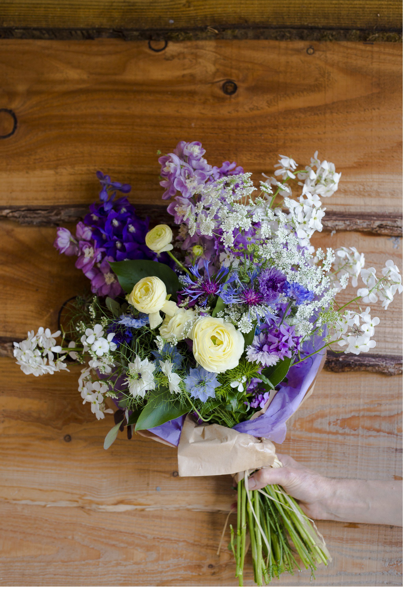 Wedding bouquet from Somerset Cut Flower Garden